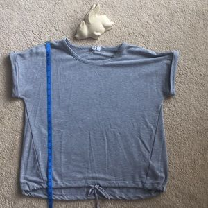 Cable & Gauge grey heavy weight T-shirt M EUC